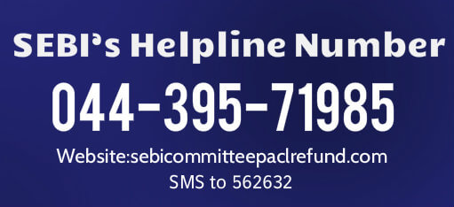 PACL-SEBI Helpline Number