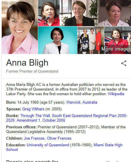 anna bligh and pearls india limited